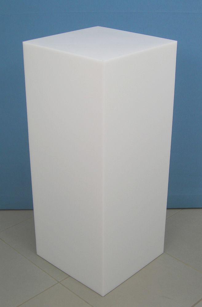 3672 parallelepipedo display plastica arredamento negozi