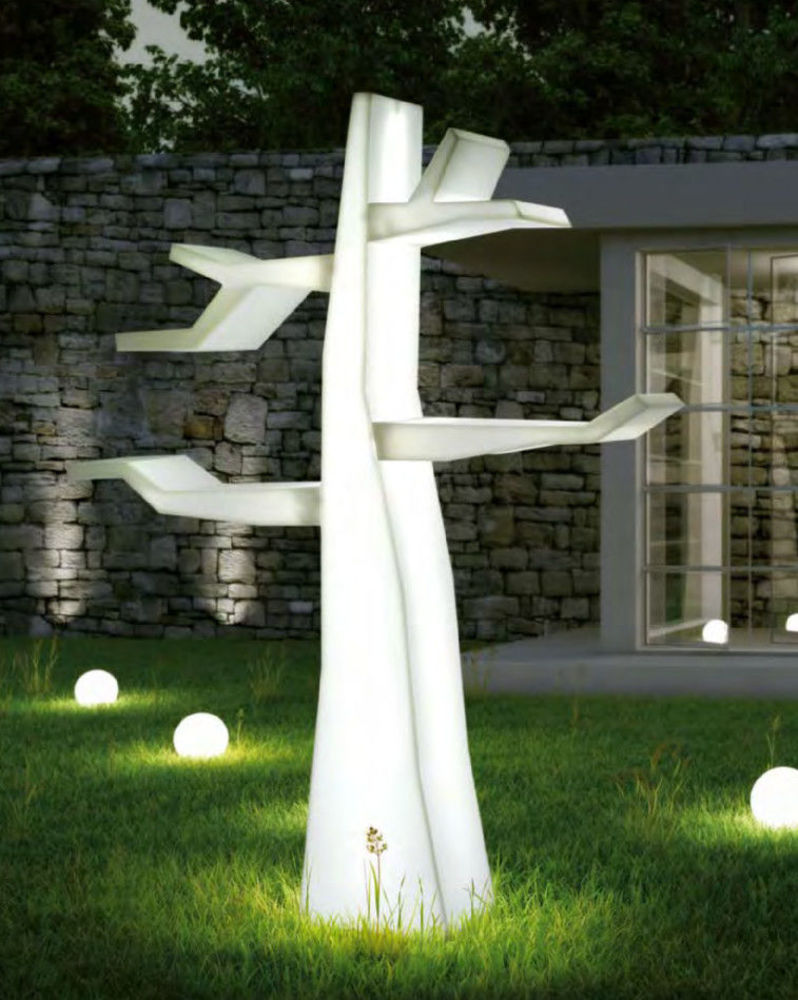 5583 lampade da giardino luminose sfera globe complemento for Lampade designer