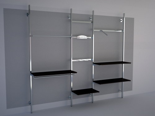 Strutture Componibili Autoportanti Per Cabine Armadio.Centromanichini Art 012 Ar500ap6ch