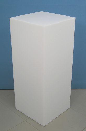 3672 parallelepipedo display plastica arredamento negozi cubo