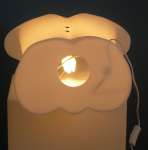1076 luminoso busto uomo espositore