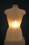 1081 luminoso donna busto con tappo