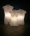 1088 busti luminosi torso uomo donna tappo