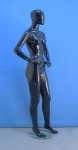 1195 base vetro donna manichino stilizzato nero laccato lucido