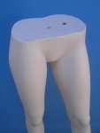 1253 manichino donna gambe display