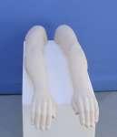 1295 uomo economico manichino plastica coppia braccia