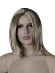1369 manichino make up realistico parrucca donna