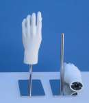 1584 mani coppia donna base metallo