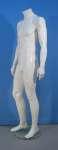 1656 manichino uomo laccato lucido base vetro senza testa