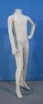 1657 manichino senza testa bambino base vetro