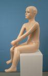 180 seduto manichino bambino realistico