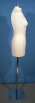 1833 manichino donna sartoria tappo cromato base
