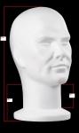 1939 testa uomo espositore per parrucca