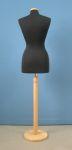 218 busto sartoriale donna base tonda legno