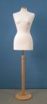 222 base legno tonda busto donna sartoria
