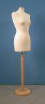 229 donna sartoria manichino con base tonda legno