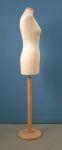 230 base legno donna manichino per sartoria