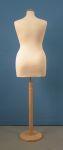 243 busto donna per negozi taglie comode sartoria con base tonda