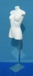 2473 twist donna colore bianco base metallo