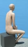 2624 manichino donna realistico seduto