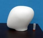 2655 testa uovo stilizzata bimbo per torso busto