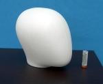 2656 testa stilizzata bimbo per manichino busto torso