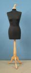 281 base legno treppiedi donna sartoria busto