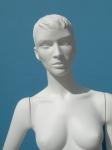 2897 manichino precolorato donna capelli scolpito modello brenda
