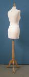 290 base legno treppiedi donna busto per sartoria