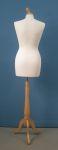 291 donna manichino tappo pomello base legno treppiedi sartoriale