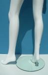 2966 base vetro gambe donna laccato lucido