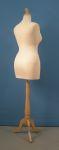 298 sartoriale donna busto per negozi taglie comode base legno treppiedi