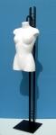 3034 busto donna precolorato base metallo verniciato