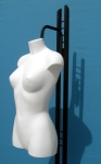 3035 busto donna attacco al collo base verniciata