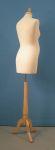 306 tappo pomello manichino donna premaman base legno treppiedi