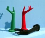 3099 mani per biggiotteria floccate