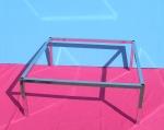 3129 telaio struttura panca tavolo metallo