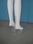 3149 espositore gambe manichino donna base metallo con attacco al polpaccio