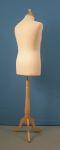 314 base legno treppiedi busto sartoria uomo