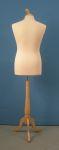 315 busto da uomo sartoriale base legno treppiedi tappo pomello