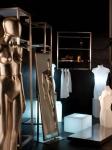 3160 manichino donna busti specchio cubi luminosi precolorati