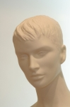 3221 viso manichino donna testa capelli scolpiti