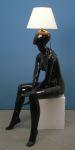 3375 lampada donna nera