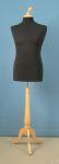 33 manichino uomo base legno treppiedi tappo pomello sartoriale