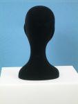3497 testina donna polistirolo vellutato nero retro
