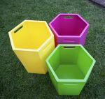3544 tris contenitori materiale atossico