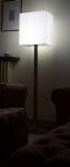 3554 lampada cubica base inox materiale ecologico