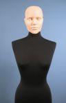 4115 busto sartoriale donna testa capelli scolpiti
