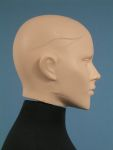 4117 testa capelli scolpiti donna busto