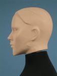 4118 busto sartoria donna testa scolpita